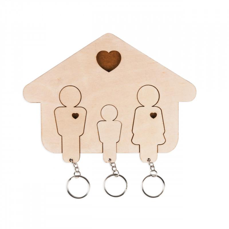 Wieszak na klucze - Rodzina 2+ syn