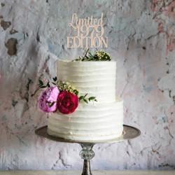 Topper na tort urodzinowy - LIMITED EDITION
