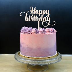 Topper na tort - Happy Birthday!