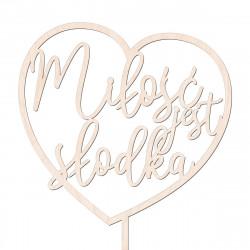 Topper Miłość jest słodka