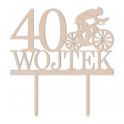 Topper urodziny - Kolarz Rower Rowerzysta