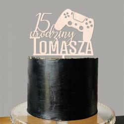 Topper PAD PS5 PlayStation Xbox gracz gra game gamer kontroler konsola - urodziny