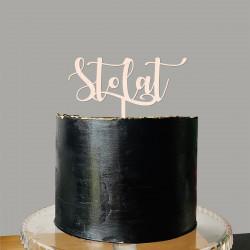 Topper Sto lat - urodziny imieniny życzenia