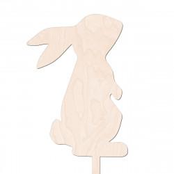 Mini Topper Zajączek - Zając Królik Wielkanoc - v3