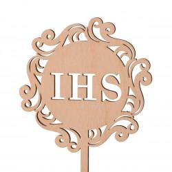 Mini Topper - hostia IHS - fantazyjna