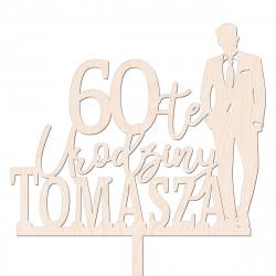 Topper Mężczyzna w garniturze - Man Chłopak Elegancki Mężczyzna - urodziny