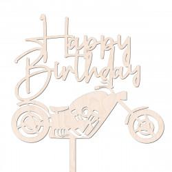 Topper Happy Birthday motor motocykl chopper